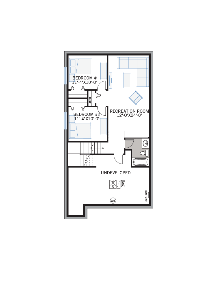 The Hudson home upper floor quick possession in Walden, located at 103 Walgrove Green SE Calgary Built By Cardel Homes