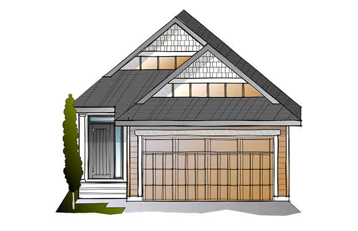 New Calgary Single Family Home Quick Possession Hudson in Walden, located at 103 Walgrove Green SE Built By Cardel Homes