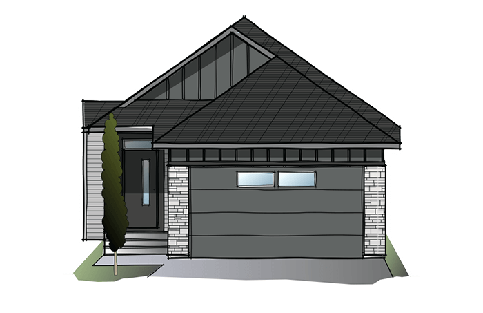 New Calgary Single Family Home Quick Possession Hudson in Walden, located at 103 Walgrove Green SE Built By Cardel Homes Calgary