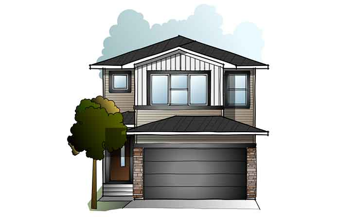 New Calgary Single Family Home Quick Possession Evo 2 in Walden, located at 244 Walgrove Heath SE Built By Cardel Homes