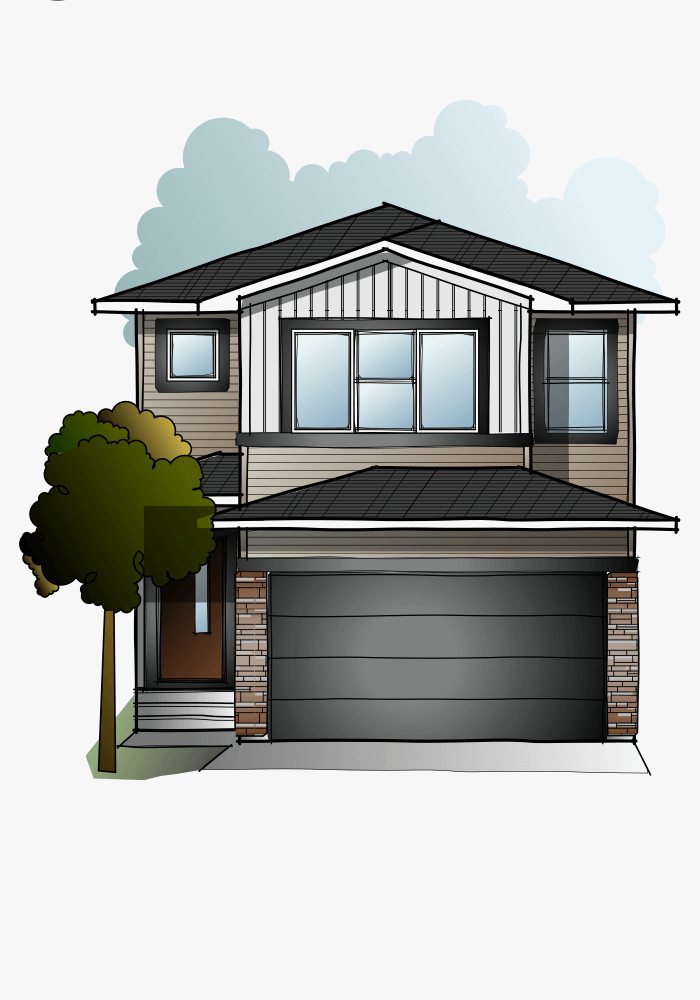 New Calgary Single Family Home Quick Possession Evo 2 in Walden, located at 244 Walgrove Heath SE Built By Cardel Homes Calgary