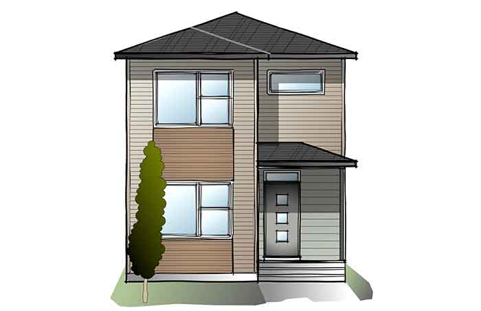 New Calgary Single Family Home Quick Possession Mensa 3 in Walden, located at 467 Walgrove Way Built By Cardel Homes