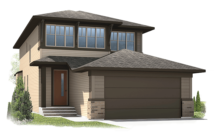 New Calgary Single Family Home Quick Possession Tandem Bay in Walden, located at 73 Walgrove Gardens Built By Cardel Homes Calgary