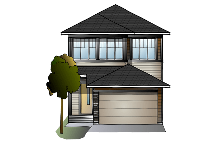 New Calgary Single Family Home Quick Possession Tandem Bay in Walden, located at 73 Walgrove Gardens Built By Cardel Homes