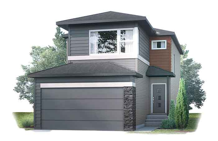 New Calgary Single Family Home Quick Possession Evo 2 in Walden, located at 89 Walgrove Gardens SE Built By Cardel Homes