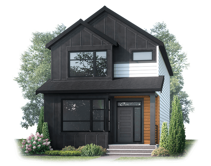 New Calgary Single Family Home Julian in Shawnee Park, located at 28 Treeline Manor SW. Built By Cardel Homes Calgary