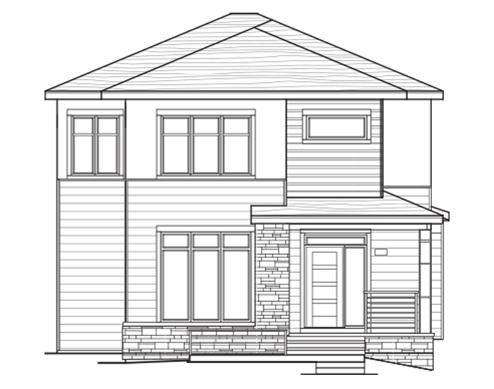 New Calgary Single Family Home Pinnacle in Shawnee Park, located at 33 - 20 Alpine Manor SW Built By Cardel Homes Calgary