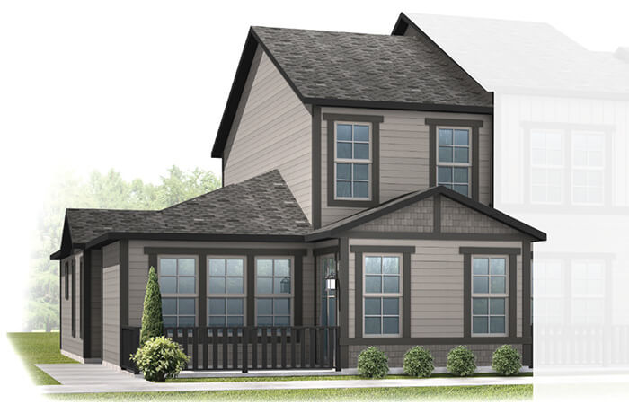 New Denver Single Family Home Quick Possession Juniper in Lincoln Creek, located at 6828 Bethany Drive Built By Cardel Homes