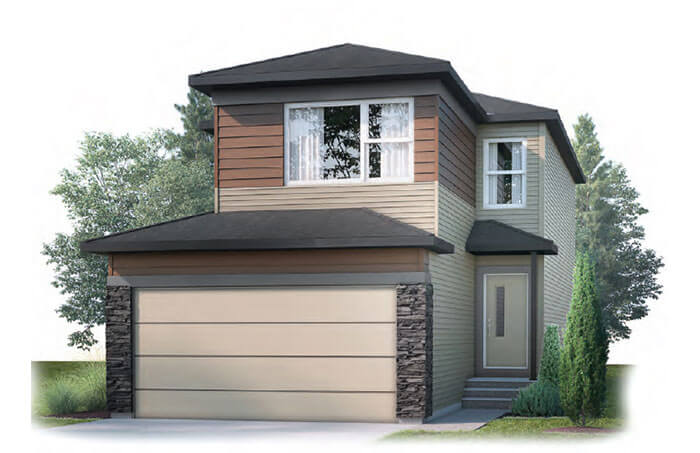 New Calgary Single Family Home Quick Possession Evo 1 in Walden, located at 84 Walgrove Terrace SE Built By Cardel Homes