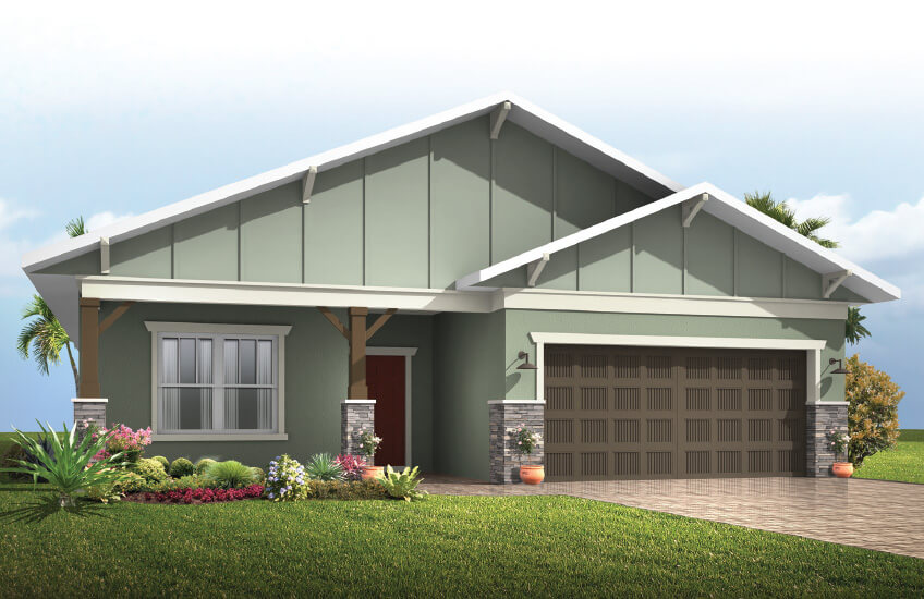 New Tampa Single Family Home Quick Possession Southampton in Waterset, located at 5518 Del Coronado Dr, Apollo Beach (Lot 12) Built By Cardel Homes