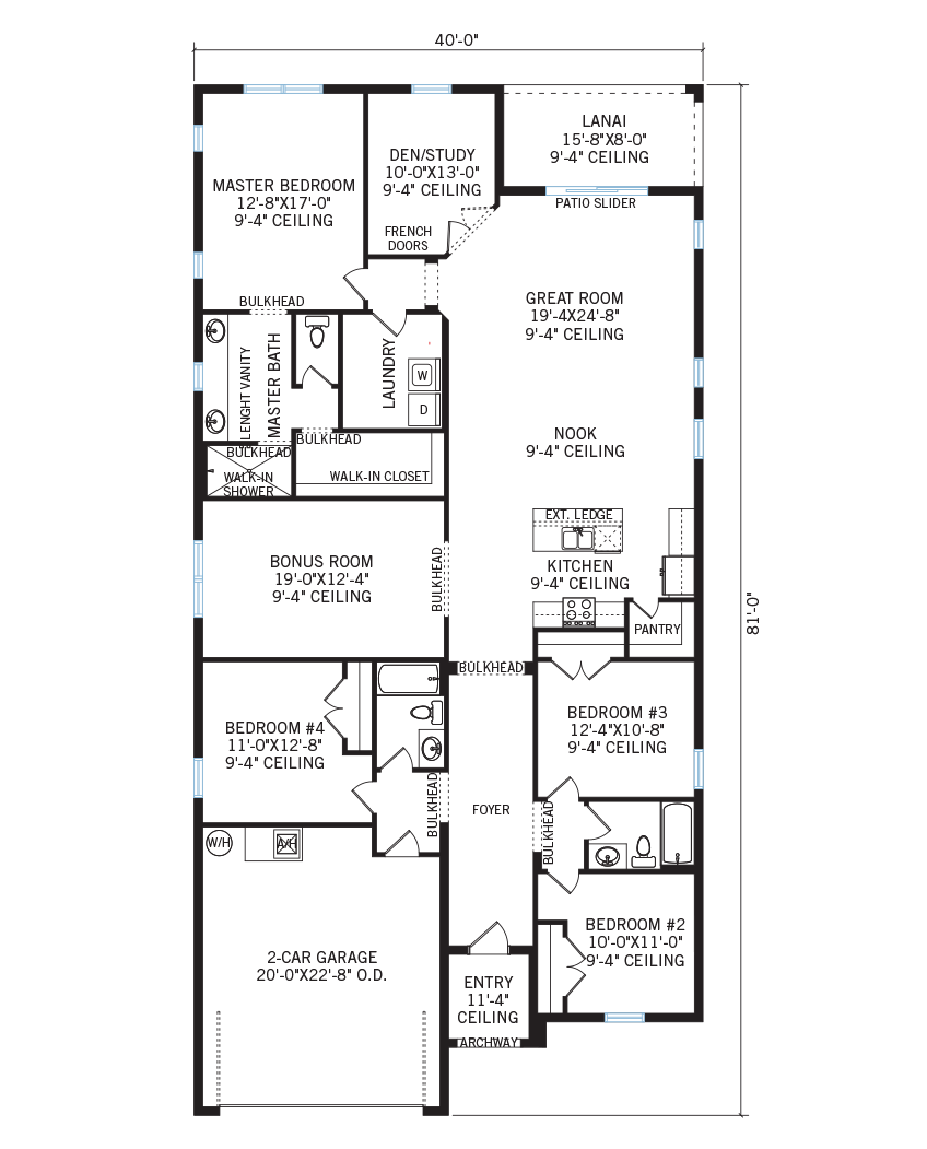 The Southampton home main floor quick possession in Waterset, located at 5518 Del Coronado Dr, Apollo Beach (Lot 12) Tampa Built By Cardel Homes