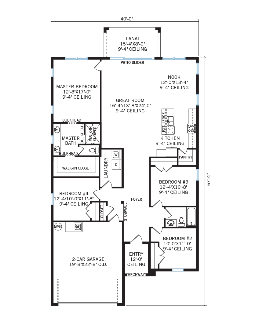 The Brighton home main floor quick possession in Waterset, located at 5522 Del Coronado Dr, Apollo Beach (Lot 11) Tampa Built By Cardel Homes