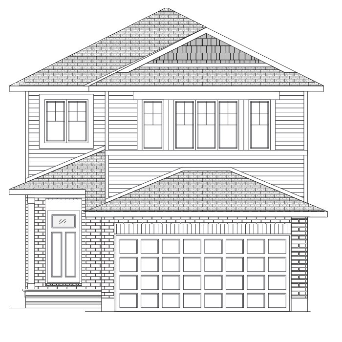 New Ottawa Single Family Home Quick Possession Neuvo 1 in EdenWylde, located at 846 Sendero Way, Stittsville, ON (Lot 2059) Built By Cardel Homes