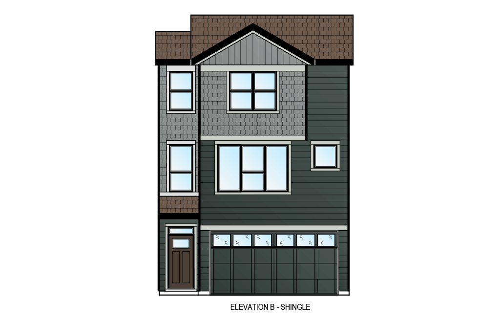 New home in ASCENT - UNIT 27 in Shawnee Park, 1,880 SQFT, 3 Bedroom, 2.5 Bath, Starting at 569,900 - Cardel Homes Calgary
