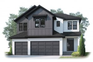 CASCADE_SP - S4 FARMHOUSE_SP Elevation - 2,414 sqft, 3 Bedroom, 2.5 Bathroom - Cardel Homes Calgary