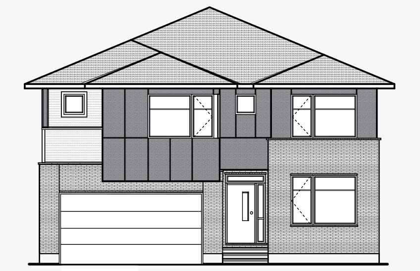 New Ottawa Single Family Home Quick Possession Aberdeen in Creekside, located at 703 Kirkham Crescent, Richmond Built By Cardel Homes Ottawa