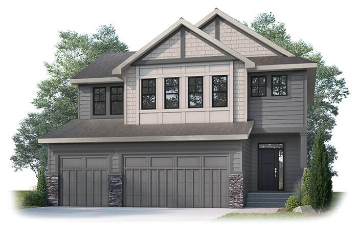 New home in MICHENER in Shawnee Park, 2,392 SQFT, 3 Bedroom, 2.5 Bath, Starting at  - Cardel Homes Calgary