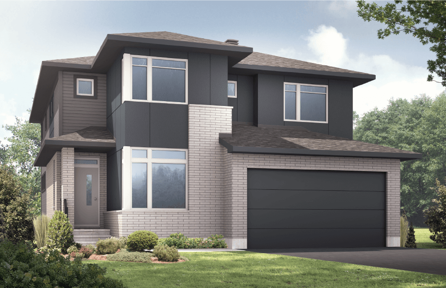 New Ottawa Single Family Home Quick Possession Nichols in Creekside, located at 712 Kirkham Crescent, Richmond Built By Cardel Homes Ottawa