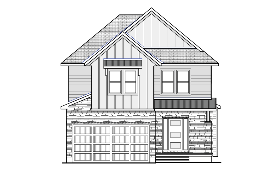New Ottawa Single Family Home Quick Possession Devonshire 2 in Creekside, located at 714 Kirkham Crescent, Richmond Built By Cardel Homes